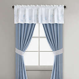 Harbor House™ Crystal Beach Window Curtain Panels