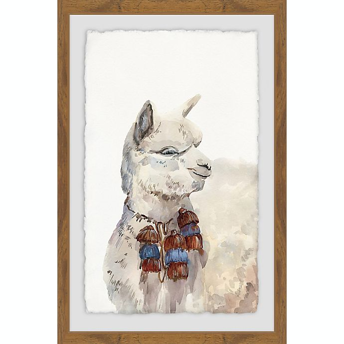 Alternate image 1 for Marmont Hill Wink 20-Inch x 30-Inch Framed Wall Art
