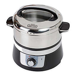 Euro Cuisine® 3.2-Liter Stainless Steel Electric Food Steamer