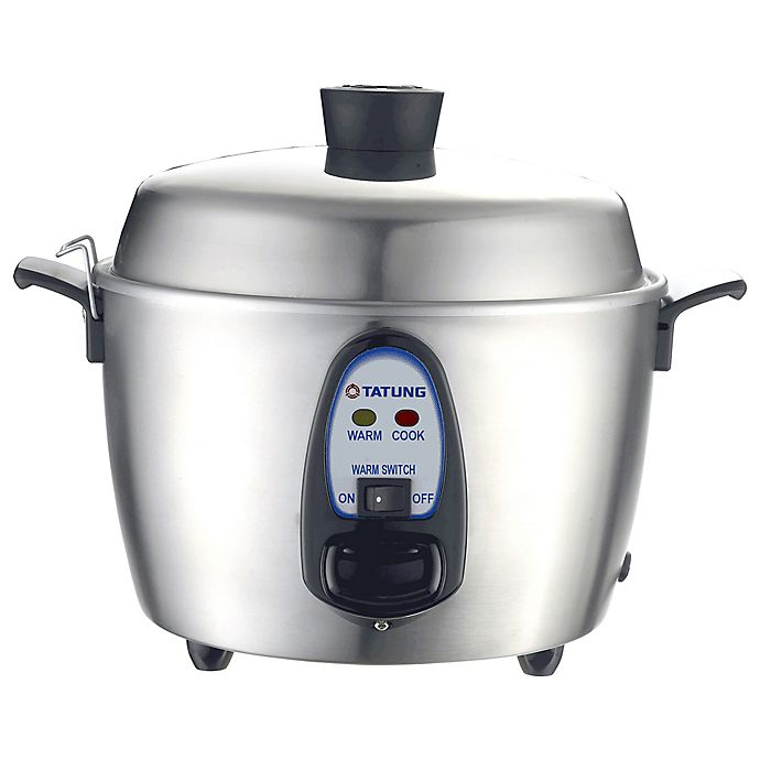 Alternate image 1 for Tatung 6-Cup Stainless Steel Multi Cooker and Warmer