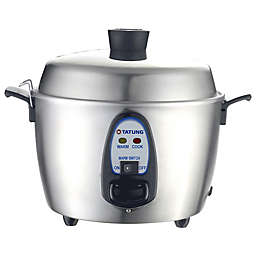 Tatung 6-Cup Stainless Steel Multi Cooker and Warmer