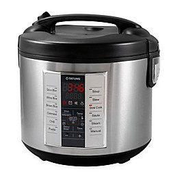 Tatung 10-Cup Multi Cooker with 12 Preset Cooking Functions