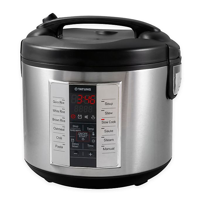 Alternate image 1 for Tatung 10-Cup Multi Cooker with 12 Preset Cooking Functions