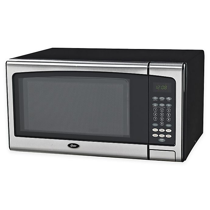 Alternate image 1 for Oster® 1.1 cu. ft. Stainless Steel Microwave Oven