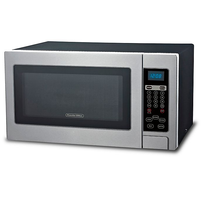 Alternate image 1 for Proctor Silex® 1.1 cu. ft. Microwave Oven