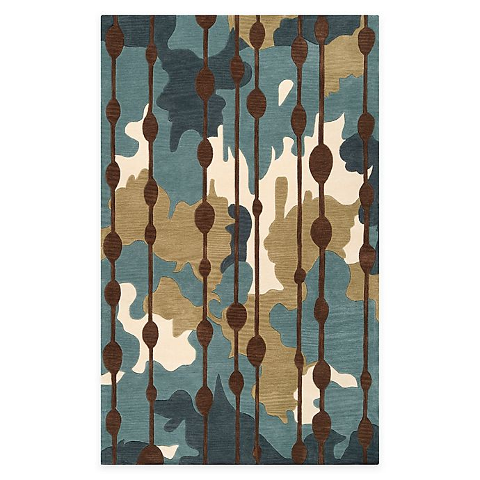 Alternate image 1 for Surya Lava 2' x 3' Accent Rug in Blue/Green