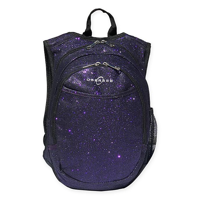 Alternate image 1 for Obersee® Pre-School Sparkle Backpack in Purple