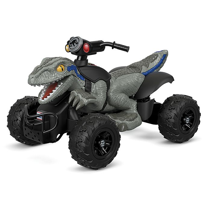Alternate image 1 for Power Wheels® Jurassic World™ Dino Racer Ride-On