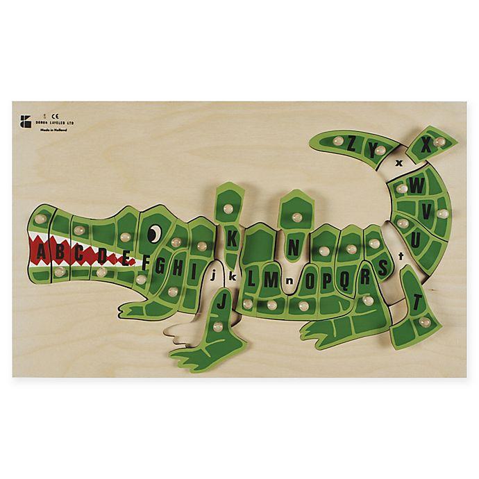Alternate image 1 for Edushape® ABC Alligator Puzzle