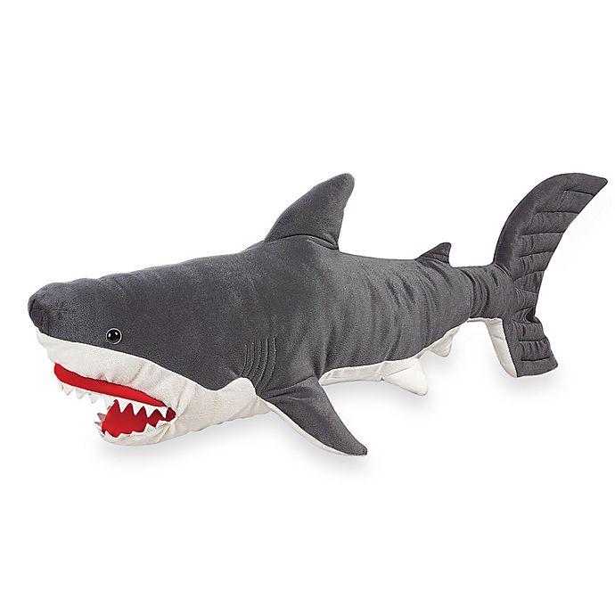 Alternate image 1 for Melissa & Doug® Plush Shark