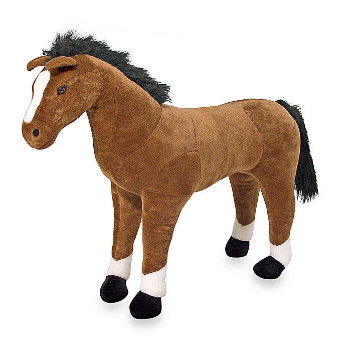 Alternate image 1 for Melissa and Doug® Plush Horse