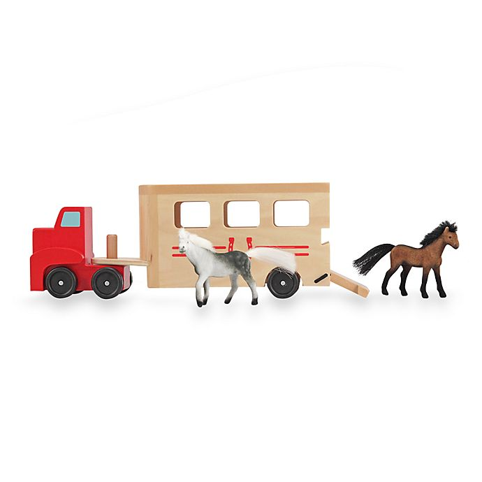 Alternate image 1 for Melissa & Doug® Horse Carrier