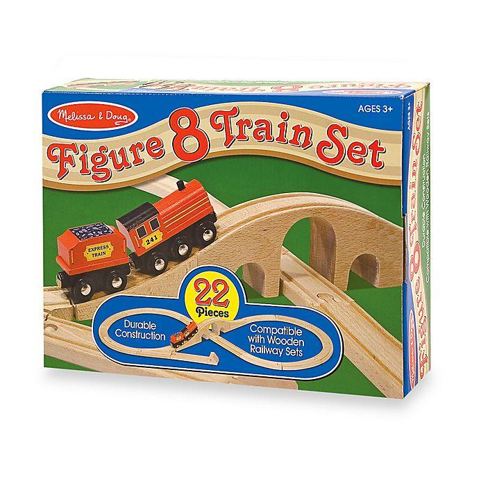 Alternate image 1 for Melissa and Doug® Figure 8 Train Set