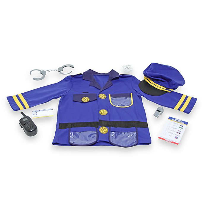 Alternate image 1 for Melissa and Doug Police Officer Role Play Costume Set