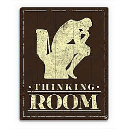 Astra Art The Thinking Room Wood Wall