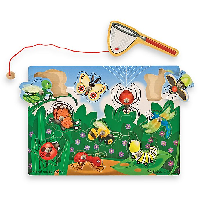 Alternate image 1 for Melissa & Doug® Bug-Catch in g Magnetic Puzzle Game