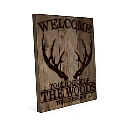 Astra Art Neck of the Woods 16-Inch x 20-Inch Canvas Wall Art