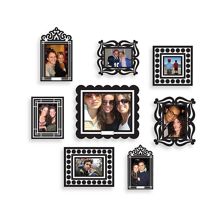 Butch Amp Harold Sticker Frames In Black Set Of 8 Bed