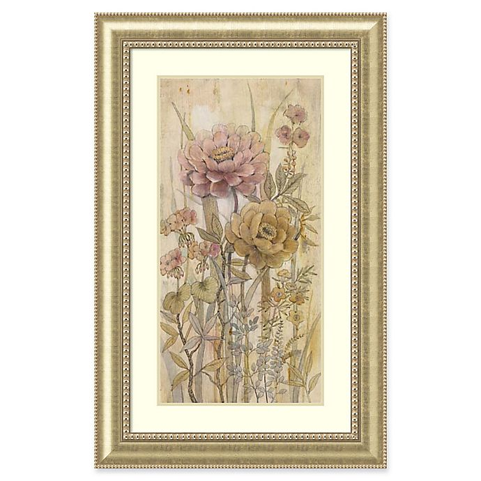 Alternate image 1 for Amanti Art Floral Chinoiserie II 32-Inch x 50-Inch Framed Wall Art