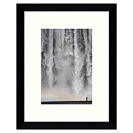 Amanti Art Iceland 113: Waterfall Framed Wall Art
