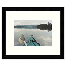 Amanti Art Kayak Dreams 11-Inch x 9-Inch Framed Wall Art