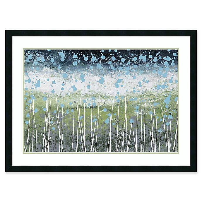 Alternate image 1 for Amanti Art Aqua Splash 41-Inch x 30-Inch Framed Wall Art