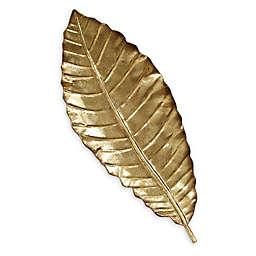 Stratton Home Decor Elegant Leaf Wall Art in Gold