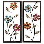 Stratton Home Decor Floral Panel Wall Art