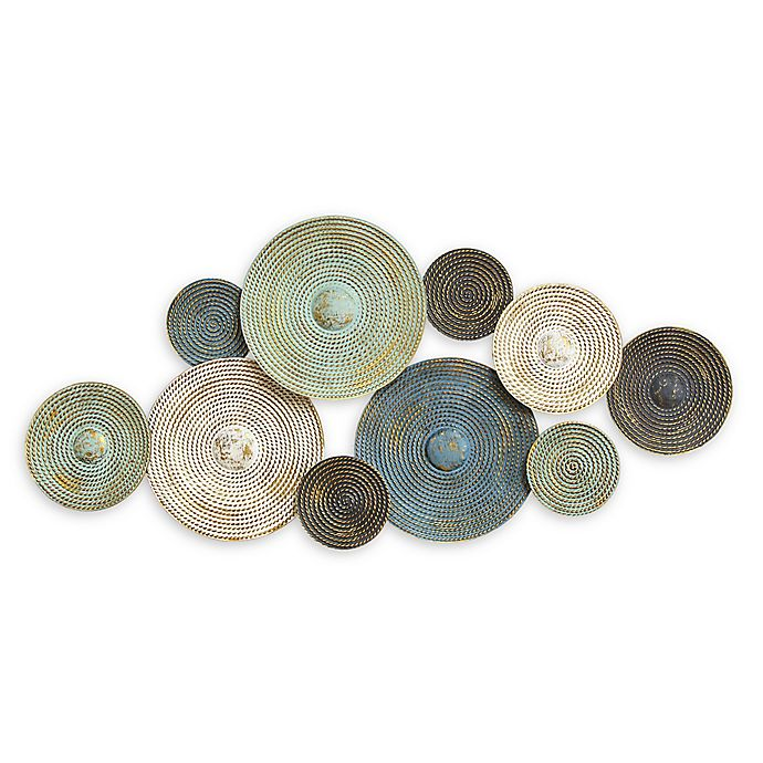 Alternate image 1 for Stratton Home Décor Asheville Textured Plates Wall Art