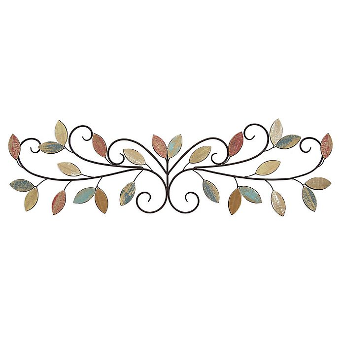 Stratton Home D Eacute Cor Wood Leaves Over The Door Wall Art In