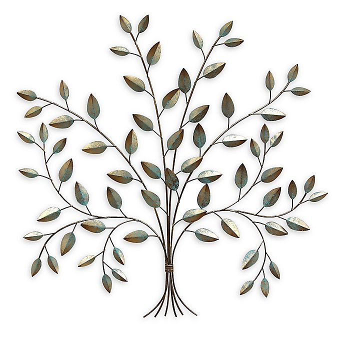 Alternate image 1 for Stratton Home Décor Tree of Life Wall Art in Patina