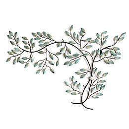 Stratton Home Décor Patina Tree Branch 39-Inch x 27-Inch Wall Art