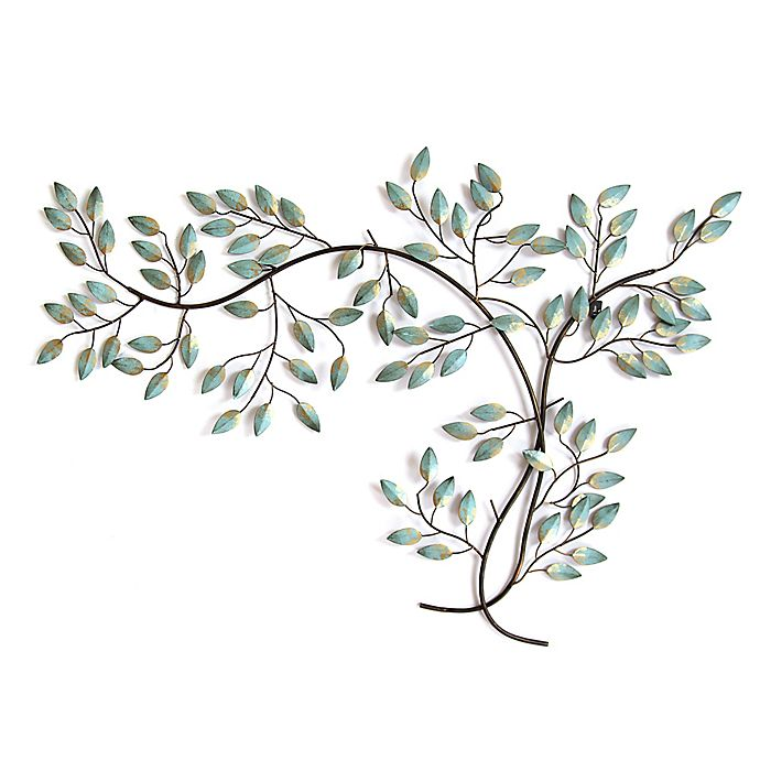 eb86ec21a0 Stratton Home Décor Patina Tree Branch 39-Inch x 27-Inch Wall Art ...