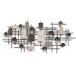 Stratton Home Décor Modern Industrial 23.5-Inch x 53-Inch Wall Art