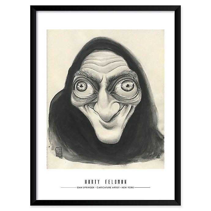 Alternate image 1 for Dan Springer's Marty Feldman 25-Inch x 37-Inch Wall Art