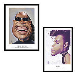 Artography Celebrity Caricature 19-Inch x 25-Inch Wall Art