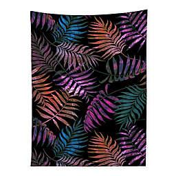 Deny Designs 80-Inch x 60-Inch Schatzi Brown Reeya Tropical Night Wall Tapestry