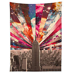 Deny Designs Bianca Green Superstar New York 80-Inch x 60-Inch Tapestry