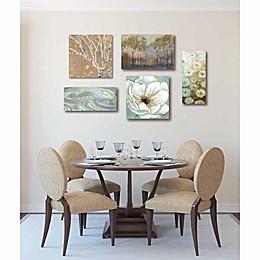 Courtside Market 5-Piece Teal & Gold Splendor Gallery Canvas Wall Art Set