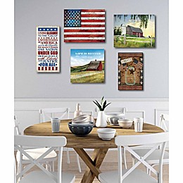 Courtside Market 5-Piece Made in the USA Gallery Canvas Wall Art Set