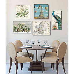 Courtside Market 5-Piece French Gallery Canvas Wall Art Set