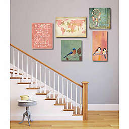 Courtside Market Places to Explore Gallery Canvas Wall Art (Set of 5)