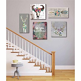 Courtside Market Go Your Own Way Canvas Wall Art (Set of 5)
