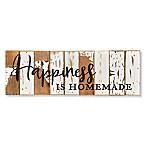 "Sweet Bird & Co. ""Happiness Homemade"" 18-Inch x 6-Inch Wood Wall Art"