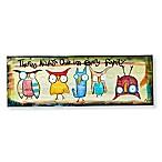 Sweet Bird & Co. Always One 18-Inch x 6-Inch Metal Wall Art