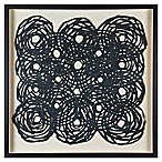 Marmont Hill Black Circles Paper Wall Art