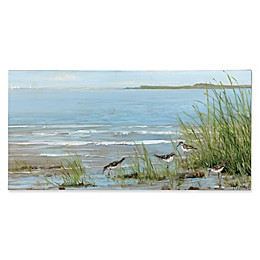Portfolio Arts Group Sandpiper Beach 59-Inch x 29-Inch Canvas Wall Art
