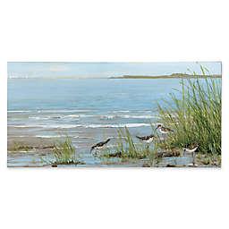 Portfolio Arts Group Sandpiper Beach 59-Inch x 29-Inch Canvas Wall Art