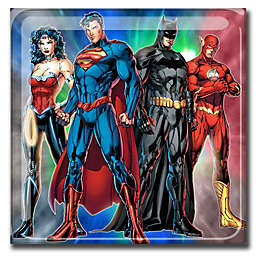 DC Comics™ Group Rumble 20-Inch Square Canvas Wall Art