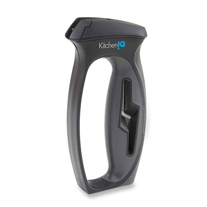 Alternate image 1 for KitchenIQ™ V-Slot Knife and Scissor Sharpener